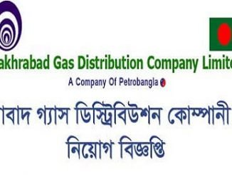 Bakhrabad Gas Distribution Company Limited Job Circular Online