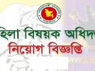 Mohila Sangstha Job Circular Online