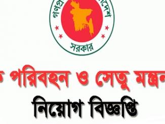 Road Transport and Bridges Ministry Job Circular Online