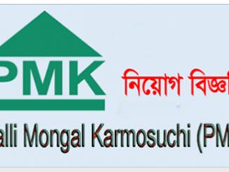 Palli Mangal Karmasuchi PMK Job Circular Online