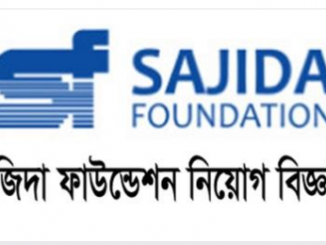 Sajida Foundation NGO Job Circular Online