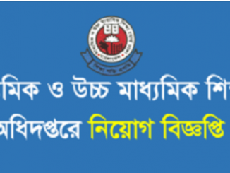 Secondary and Higher Education Directorate DHSE Job Circular Online