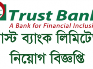 Trust Bank Limited Job Circular Online