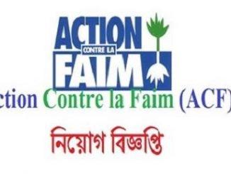 Action Contre la Faim ACF Job Circular Online