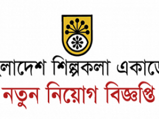 Bangladesh Shilpakala Academy Job Circular Online