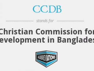 Christian Commission Development Bangladesh CCDB Job Circular Online