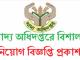 Directorate General of Food DGF Job Circular Online