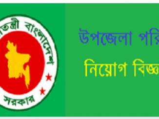 Upazila Parishad Job Circular Online