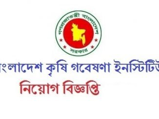 Bangladesh Agricultural Research Institute Job Circular Online