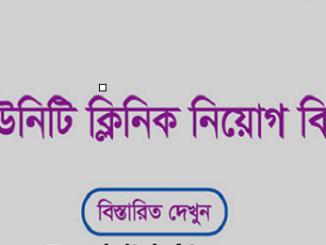 Bangladesh Community Clinic Job Circular Online