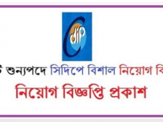 Centre for Development Innovation and Practice CDIP Job Circular Online