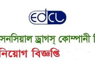 Essential Drugs Company Limited EDCL Job Circular Online