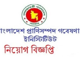 Bangladesh Livestock Research Institute Job Circular Online