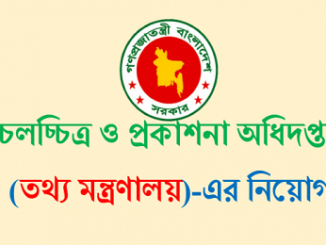 Department of Films and Publication Job Circular Online