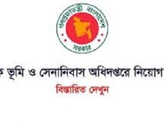 Department of Military Lands and Cantonment Job Circular Online