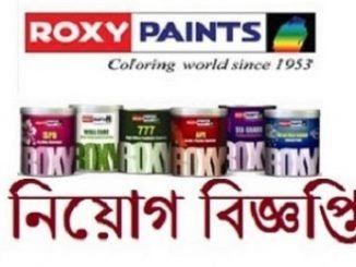 Roxy Paints Job Circular Online