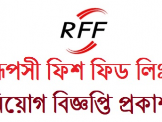 Rupshi Fish feed ltd Job Circular Online