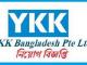 YKK Bangladesh Job Circular Online