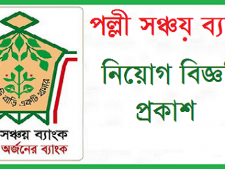 palli sanchay bank job circular Online