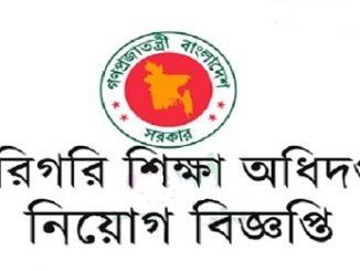 Directorate of Technical Education Job Circular Online