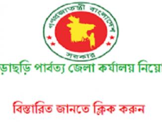 Khagrachari Hill District Council Job Circular Online