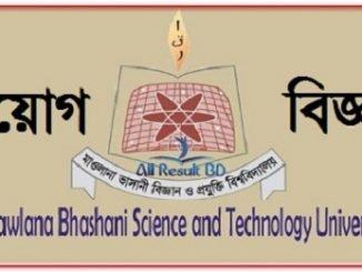 Mawlana Bhashani Science and Technology University Job Circular Online