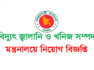 Power Energy and Mineral Resource Ministry Job Circular Online
