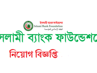 Islami Bank Foundation Job Circular Online