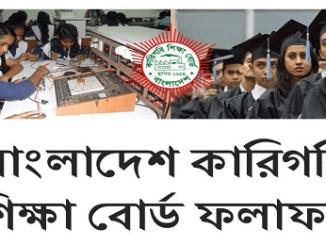 Polytechnic Diploma BTEB Admission Result Online