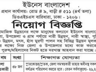 Unace Bangladesh Job Circular Online