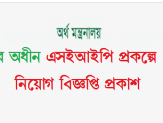Skills for Employments Investment Program Job Circular Online