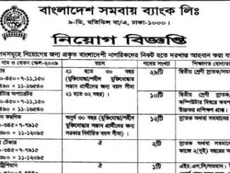 Bangladesh Samabaya Bank Limited Job Circular for you